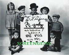 Our Gang signed Dickie Moore photo Little Rascals Hal Roach comedies RARE !