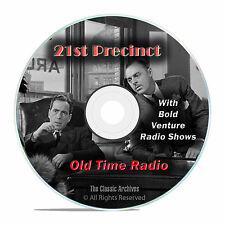 21st Precinct, 751 Old Time Radio Police Crime Drama Shows, OTR mp3 DVD G20
