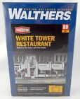 HO Scale White Tower Restaurant Structure Kit - Walthers #933-3030