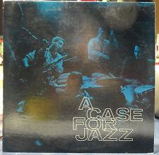 A Case For Jazz Vintage LP The Case Stage Band Dir Albert Blaser NM vinyl VG+ Jk
