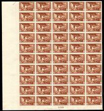 "759 Farley spec printing "" 4c National Park"" Sheet of 50 Mint, NH"