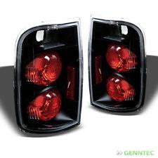 For 95-04 Chevy Blazer/GMC Jimmy Black Tail Lights Lamp Rear Brake Left+Right
