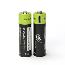 1Pcs ZNTER 1.5V 1250mAh USB Rechargeable AA Battery For RC Camera Drone