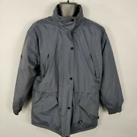 MENS TRESPASS TECHNICAL BLUE WATERPROOF COAT JACKET HOODED M MEDIUM