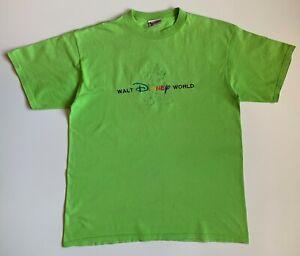 90s Vintage Walt Disney World Mickey Embroidered Logo Mens T-shirt Size XL