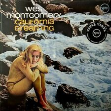 """WES MONTGOMERY """"CALIFORNIA DREAMING"""" BRAND NEW! STILL SEALED! (MINT)"""