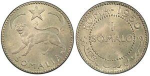 SOMALIA AFIS 1 Somalo AH1369 1950 PCGS MS64