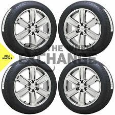 20 Cadillac Xt5 Xt6 Srx Pvd Chrome Wheels Rims Tires Factory Oem Gm Set 4 4800