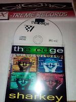 THE EDGE - DJ SHARKEY MIX CD ( RARE 1999 CLASSIC HARDCORE / TECHNO / RAVE )