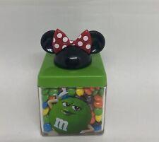 Disney Springs M&M's World Blue Minnie Ears Cube Minis Milk Chocolate New