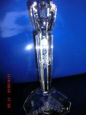 """Leuchter Kerzenständer Glas TIFFANY & CO """"Serie GEO"""" Biedermeier schliff"""