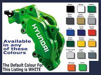 HYUNDAI Premium Brake Caliper Decals Stickers x 6