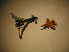 Galoob Micro Machines Beechcraft 2000 Starship Jet Airplane Aircraft w F-18 Gift