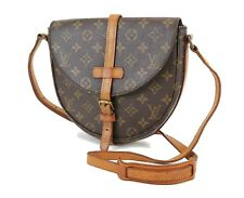 Authentic LOUIS VUITTON Chantilly MM Monogram Canvas Shoulder Bag #36157