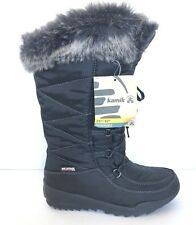 Kamik Women's Snow Boot Size 6 Dridefense Waterproof Tech Black