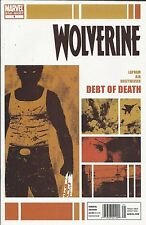 Wolverine comic issue 1 Modern Age First Print 2011 Lapham Aja Breitweiser