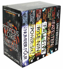 The Lorien Legacies Series 7 Books Collection By Pittacus Lore, THE FATE OF TEN