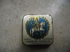 HOCH - FEINSTE HEROLD NADELN - BAVARIA - rare needle tin Grammophon Nadeldosen