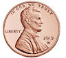 2019-W UNCIRCULATED Lincoln Cent - West Point Mint