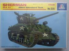 Italeri 225 Sherman M4A1 Allied Standard Tank 1:35 Neu in versiegelter OVP