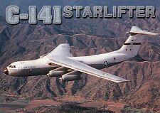 C-141 Starlifter, Air Force Military Airplane Aircraft Lockheed Plane - Postcard
