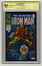 Iron Man 2020 #1 Shattered Comics Variant Signature Series 9.4