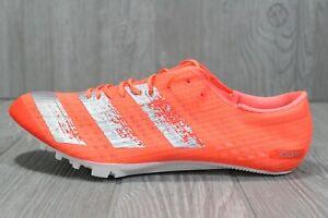 58 Adidas Adizero Finesse Track Field Spikes Orange Mens Shoes 6 - 12 EE4598