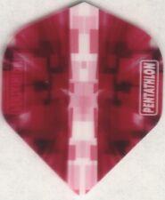 Pink RUBIK PENTATHLON Dart Flights: 3 per set