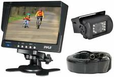 "Pyle PLCMTR71 7"" Monitor w/ Backup Camera W/ 50FT Connection for Truck bus"