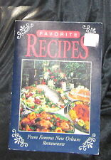 Favourite Recipes From Famous New Orleans Resturants