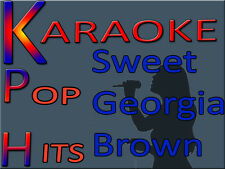 10 Pop Hits Sweet Georgia Brown Karaoke CD+G w/Aerosmith,Alicia Keys 150+ Tracks