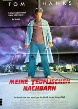 Tom Hanks  MEINE TEUFLISCHEN NACHBARN  original Kino Plakat A1