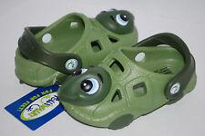 NEW POLLIWALKS TIMMY THE TURTLE GREEN shoe clogs 3D sandals 6 7 8 9 10 11 12 kid