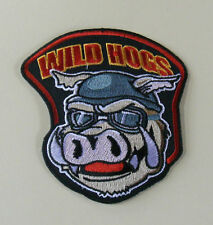 Wild Hoggs Large  Back TV Biker Motorcycle Patch