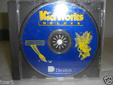 Davidson KidWorks Deluxe Cd-Rom Macintosh/Windows