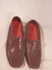 Cole Haan Penny Loafers Brown Leather  size 8 M slip on womens