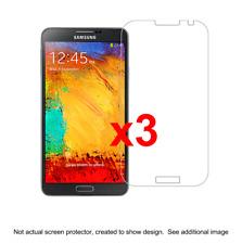3x Samsung Note 3 Anti-Scratch Screen Protector w/ cloth