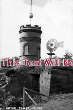 CH 700 - Helsby Water Tower, Cheshire c1919 - 6x4 Photo
