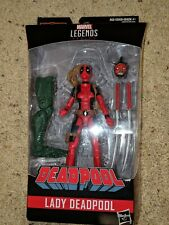 "Marvel Legends Lady Deadpool Figure 2018 6"" Sauron BAF Part New"