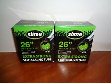 "Lot 2 Slime 26 Inch Self Sealing Smart Tubes Schrader Valve 26"" X 1.75 - 2.125"""