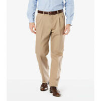 Dockers ® Classic Fit Easy Khaki Pants - Pleated D3 MSRP $50-Timberwolf