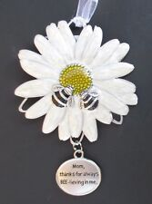 wd Mom thanks for always bee-lieving in me believing MEANT TO BEE ORNAMENT ganz