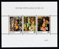 Portugal 1988 postfrisch Block MiNr. 59  Gemälde des 20. Jahrhunderts