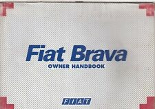 FIAT BRAVA 1.4 1.6 1.8 PETROL & 1.9 DIESEL ORIG.1995 OWNERS INSTRUCTION HANDBOOK