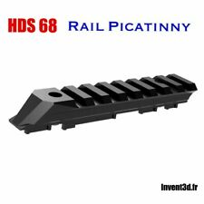 Rail Picatinny pour HDS68 T4E de Umarex - Made in France - Lunette