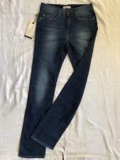 TOMMY HILFIGER Paris Blue Jeans Stretch W27/L34 high waist regular fit straight