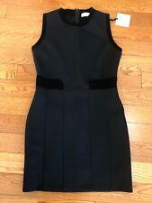 NWT $650 Red  Valentino Black Sleeveless  Little Black Dress Size XL