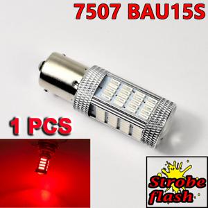 Strobe Red 7507 BAU15S PY21W 92 LED Projector Bulb Front Signal Y1 JP USA N
