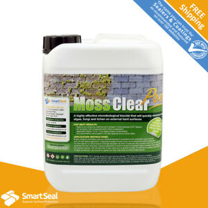 Roof Moss Killer PROFESSIONAL HIGHLY Concentrate, Powerful, Inhibit Re-Growth 5L