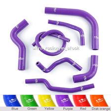 Purple Fit SUZUKI SAMURAI 1986-1995 Radiator Silicone Hose Coolant Pipe Kit